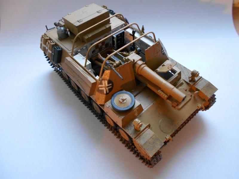 Немецкое 150-мм самоходное орудие Штурмпанцер II 1/35 (Арк модел) 340a27ed2297