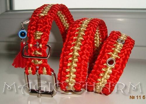 Magic Charm - ошейники, поводки, ринговки, вязаная одежда и другие аксессуары для собак Bef23eef006d