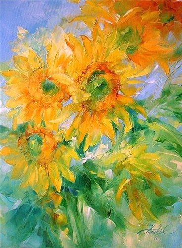 Цветотерапия в живописи... 244b0f511984