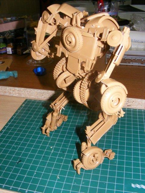 Робот трансформер(не трансформирующийся правда :) ) B2ebb35f2fd4