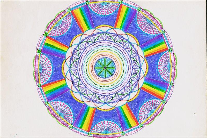 Мандалы для коллективных медитаций а так-же для индивидуального назначения. 9e38c0225067