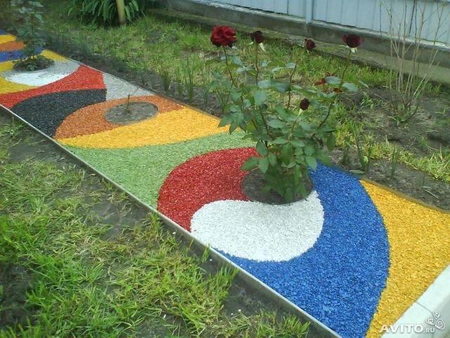 Щебень декоративный цветной E495eb4a1e7b