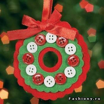 Несколько МК по созданию новогоднего настроения)) 113ee67a3864