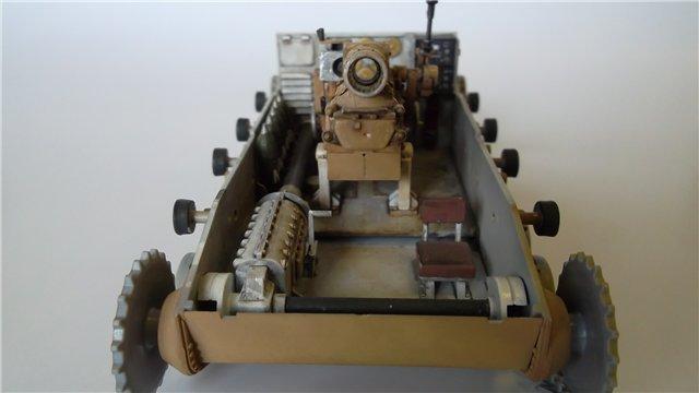 15 cm sIG auf Fahrgestell Pz II или Sturmpanzer II, 1/35, (ARK 35012) D76ce9d16355