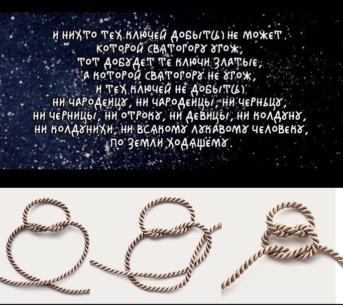 Славянские наузы: здоровье сплетённое руками 46505731a791