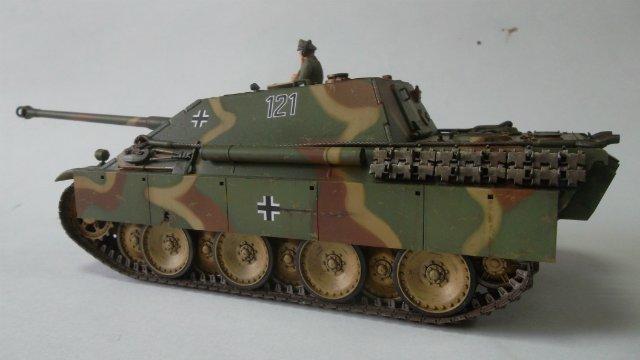 Jagdpanther, 1/35, («Tamiya» 35203). - Страница 2 22743cde0913