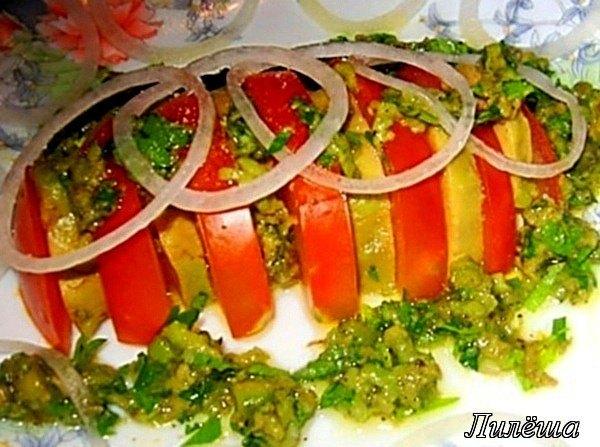Cалат из авокадо с томатами Ebfeb161f30e