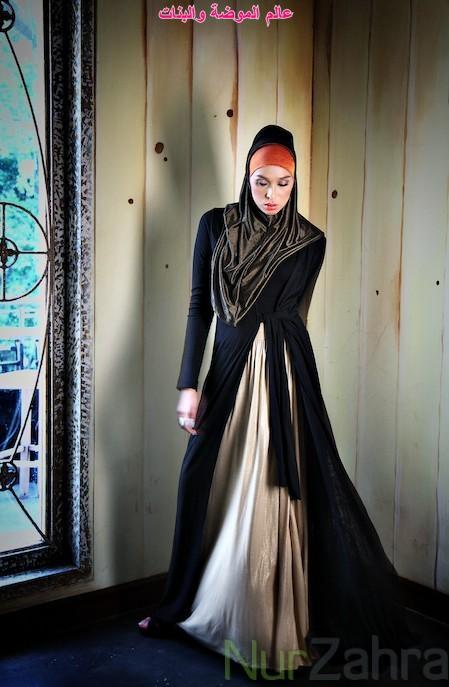 ملابس محجبات 2012 اشيك ازياء محجبات 2012 4cbbd3a32b60