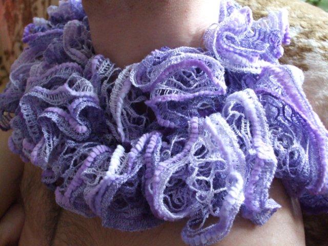 Вязаная шаль, шарфы - Страница 4 773bfcbe197b