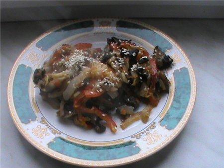 Китайский салат с имбирем и кунжутом 91a07d246d6d