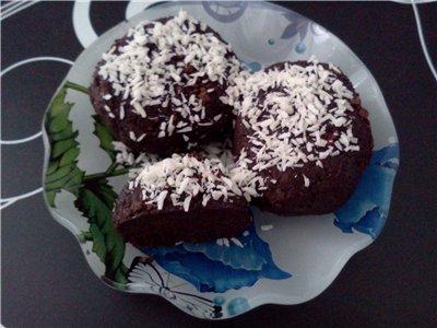 """Пирожное """"картошка"""" с кокосом Db4cfa303464"""