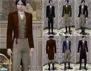 Старинные наряды, костюмы 585c8edf8461