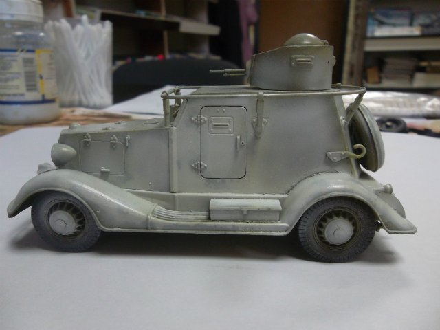 Бронеавтомобиль БА-20 Ж/Д, 1/35, (Старт). 7113298d2084