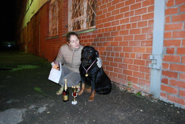 Ночные испытания собак в Латвии 55eb96480a22