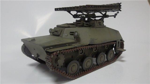 Катюша БМ-8-24 на Т-40, 1/35, (Старт) 008498ff8497