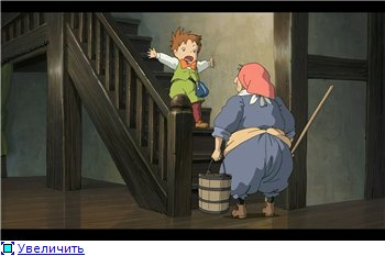 Ходячий замок / Движущийся замок Хаула / Howl's Moving Castle / Howl no Ugoku Shiro / ハウルの動く城 (2004 г. Полнометражный) Fb6f899b3e60t