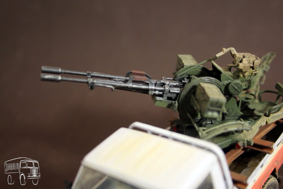 PickUP w/ZU-23-2 от Meng, масштаб 1/35 0ad411962d79