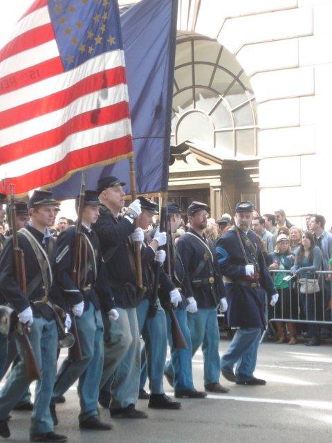 Нью-Йорк. День поголовного сумашедствия. День святого Патрика Ba1ee521287b