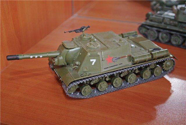 """ИСУ-152 """"Зверобой"""", 1/35, (Звезда 3532) перекраска старой модели. 2d9bd4309d0d"""