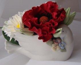 Цветы ручной работы из полимерной глины 7608b73288db