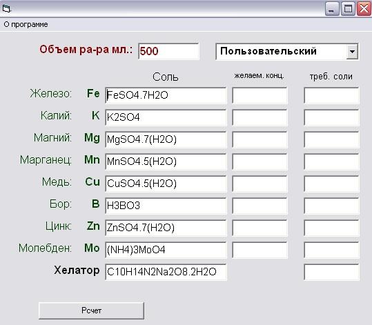 Химический калькулятор. E3a6f93a08c7