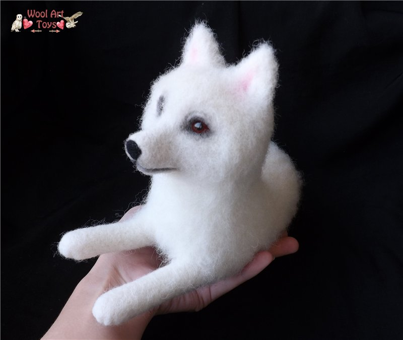 Miniature Sculpture of your dog. Needle Felted Dog  Ea58eaa15153