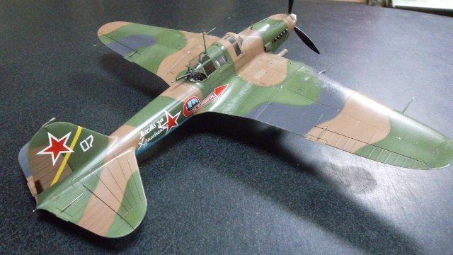 Ил-2, масштаб 1/48, (Tamiya 61113). 9a338bf4ab4b
