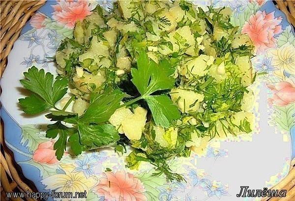 Картофельный салат с зеленью 640db27e1e4a