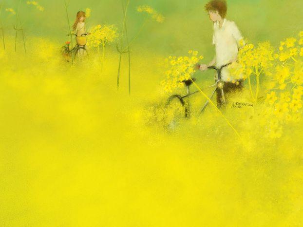 Корейская художница Christian Asuh D9ccef474315