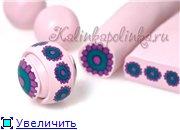 МК бусы и браслеты из полимерной глины Cf4c57dbf038t