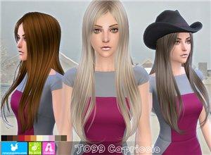 Женские прически (длинные волосы) - Страница 4 02eb6a170321