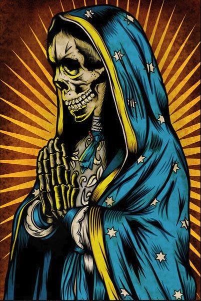 Santa Muerte. Святая Смерть Af616df9b4d9