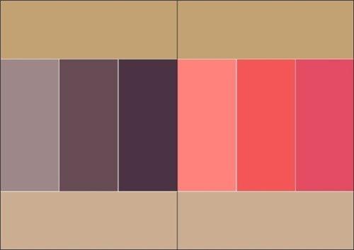 Как правильно сочетать цвета в одежде 982b2459dcf4