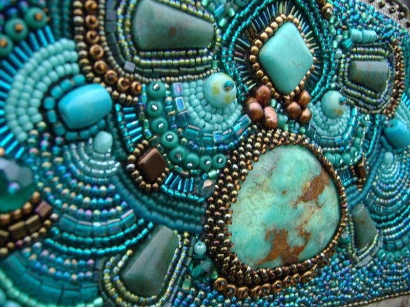 Как прикрепить камни в бисерной вышивке? Bb5fb66c31bd