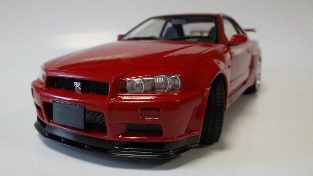Nissan Skyline GT-R, 1/24, (Tamiya 24210) C0c087cdac2b