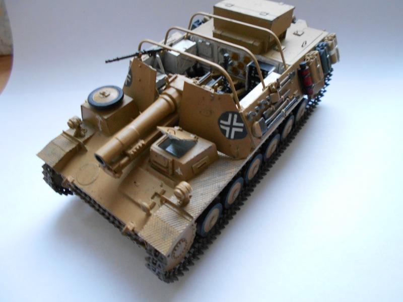 Немецкое 150-мм самоходное орудие Штурмпанцер II 1/35 (Арк модел) 3741aeeba467