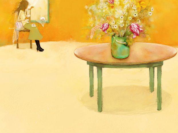 Корейская художница Christian Asuh 2cf469d34fe7