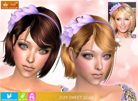 Прически для The Sims 2 .Женские 5b9f2f1364d6