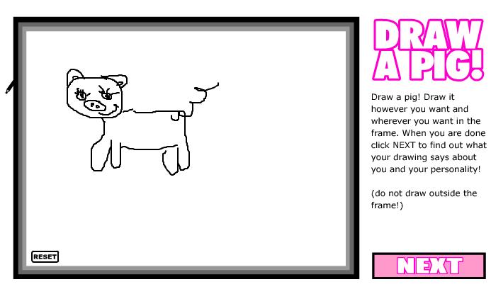 Проективные тесты: нарисуй свинью и нарисуй яблоко онлайн =) B00e7c5e0a62