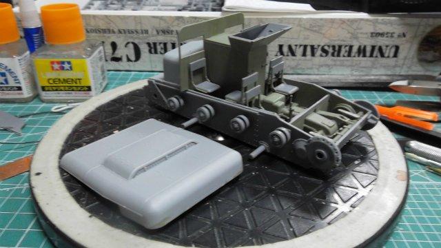Тягач Т-26 / трофейный польский С7Р, 1/35, (Mirage hobby 35903). 1cd57911f81e