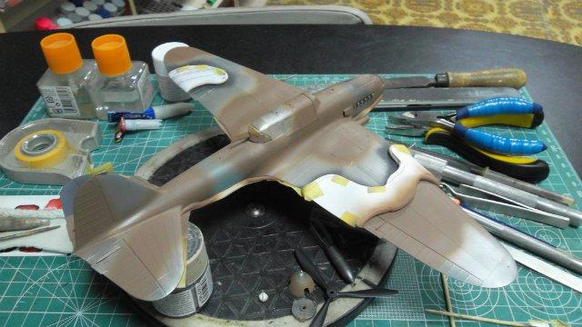 Ил-2, масштаб 1/48, (Tamiya 61113). 36f40ed71eed