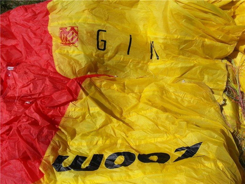Параплан маршрутный ZOOM производитель GIN (KOREA) 2005г/в 1fc24e650356