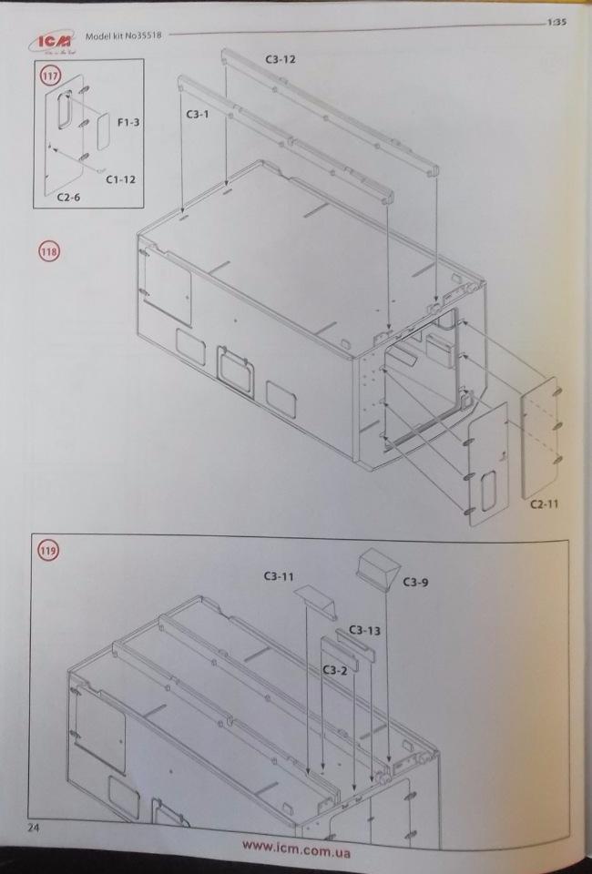 Обзор ЗиЛ-131 Аварийная служба / КУНГ, 1/35 (ICM 35518).  53b15a14b12c
