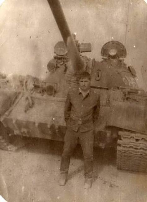 Т-55. ОКСВА. Афганистан 1980 год. A4ea3be898ee