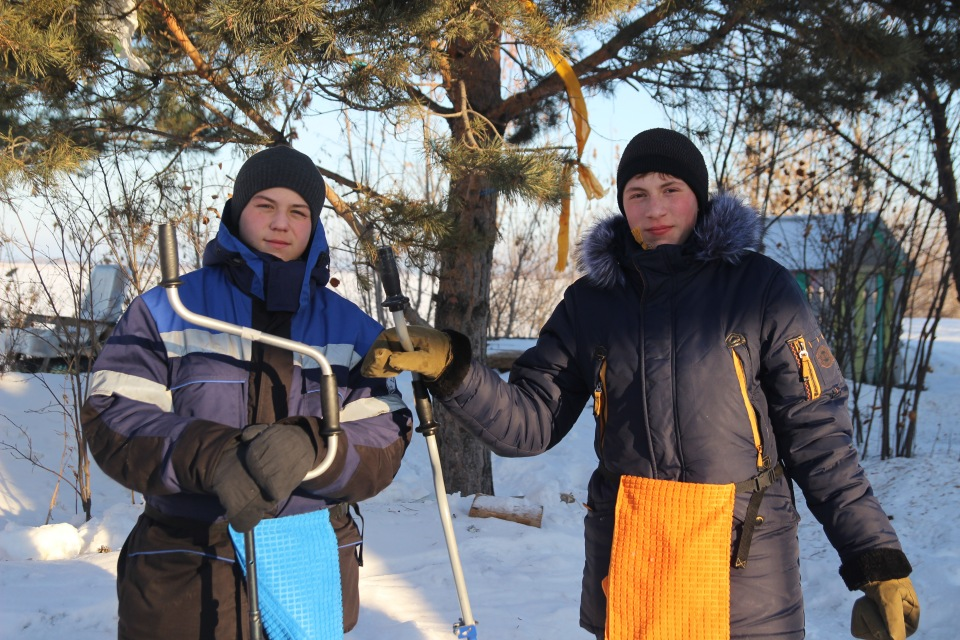 Первенство города Кургана по ловле на мормышку со льда среди юношей и девушек с 14 до 17 лет. Faa9f3946efd