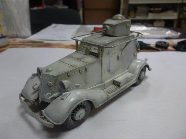 Бронеавтомобиль БА-20 Ж/Д, 1/35, (Старт). Cb0f427c1861