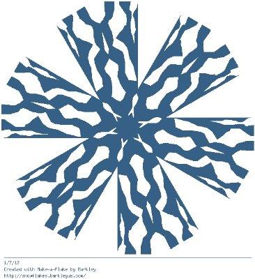 Зимнее рукоделие - вырезаем снежинки! - Страница 10 45e97012f728