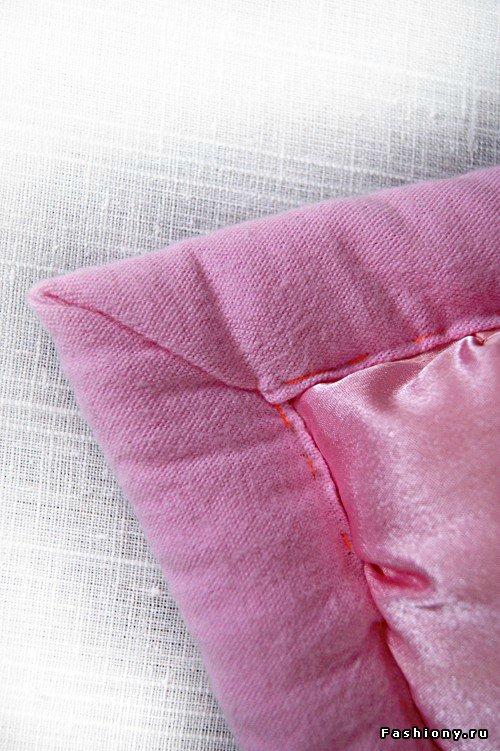 Шьем декоративное одеяло и подушку. Мастер-класс 9e563d9619dc