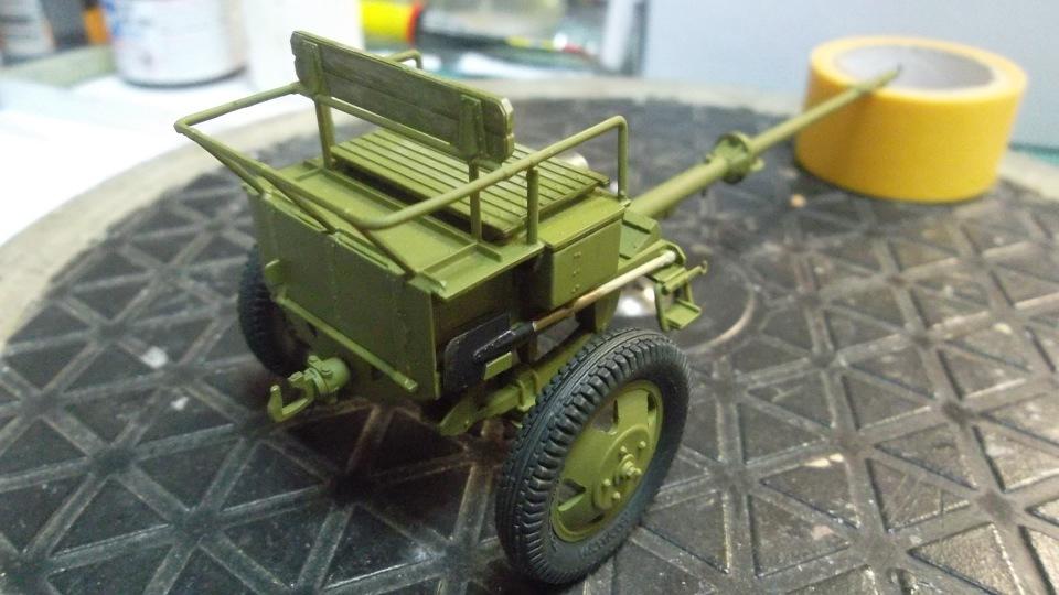 Советский артиллерийский передок 52-Р-353M, 1/35, (ICM 35481). - Страница 2 575e686a9830