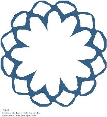 Зимнее рукоделие - вырезаем снежинки! - Страница 10 Caaa17636f73